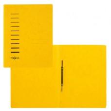 Cartella con pressino - cartone - A4 - giallo - Pagna