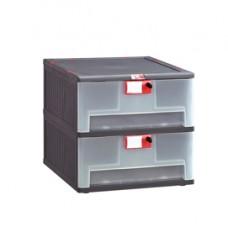 Cassettiera Mopla 102 - PP - 2 cassetti - Mobil Plastic