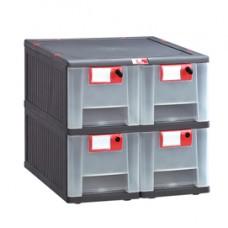 Cassettiera Mopla 104 - PP - 4 cassetti - Mobil Plastic