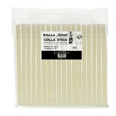 Colla termofusibile in stick - lunghezza 20 cm - diametro 11 mm - Koala - sacchetto da 1 kg