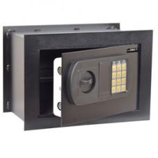 Cassaforte da muro -  serratura elettronica - 33x20x23 cm - 9 kg - nero - Iternet