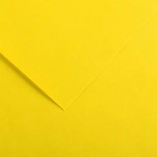 Foglio Colorline - 70x100 cm - 220 gr - giallo canarino - Canson