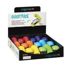 Cucitrice - in ABS - colori assortiti - Ri.Plast - expo da banco 18 pezzi