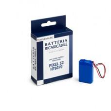 Batteria ricaricabile per conta/verifica/banconote Pixel S2 - Iternet