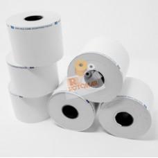 Rotolo per bilancia - carta termica adesiva BPA free FSC - 62,5 mm x 18 mt - diametro esterno 52 mm - 55 gr - anima 18 mm - Rotomar