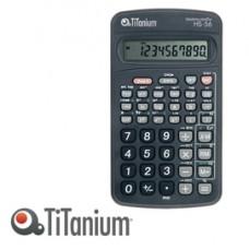 Calcolatrice scientifica HS-56 - 10 cifre - Titanium