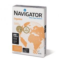 Carta Organizer - 4 fori - A4 - 80 gr - Navigator - conf. 500 fogli
