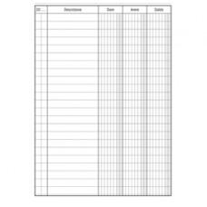 Registro Dare-Avere-Saldo - 96 pagine - 17 x 12 cm - DU133300000 - Data Ufficio
