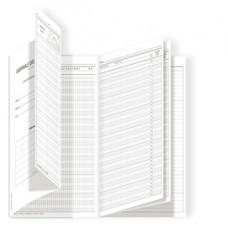 Registro del professore (3 classi) - 31 x 17 cm - DU3425PS000 - Data Ufficio