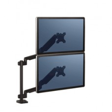Braccio portamonitor doppio verticale Platinum Series - Fellowes