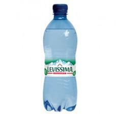Acqua frizzante - PET 100 riciclabile - bottiglia da 500 ml - Levissima