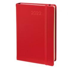Agenda giornaliera Daily Prestige ML 2022 - copertina Habana - 13 x 21 cm - rosso - Quo Vadis