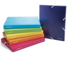 Cartella con elastico Colorosa - PPL - colori assortiti - diametro 50 mm - Ri.Plast