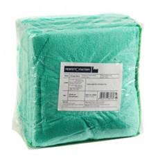 Panni microfibra Ultrega - 40 x 40 cm - verde - Perfetto - pack 10 pezzi