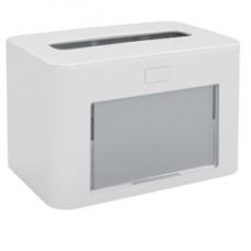 Dispenser personalizzabile - per tovaglioli interfogliati - bianco - Papernet