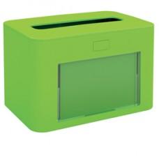 Dispenser personalizzabile - per tovaglioli interfogliati - verde - Papernet