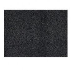 Tappeto in PPL - 60x80 cm - nero - Velcoc