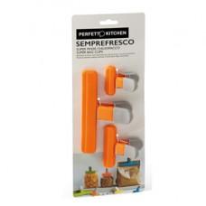 Pinzone chiudi pacco Semprefresco - Perfetto - set 3 pezzi