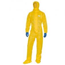 Tuta di protezione Deltachem - taglia M - giallo - Deltaplus