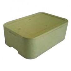 Cassa termica - in polistirolo espanso - per il trasporto alimenti - 59,4x41,5x18,5 cm - Cuki Professional