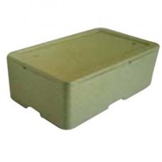 Cassa termica - in polistirolo espanso - per il trasporto alimenti - 57,8x37,4x21,1 cm - Cuki Professional