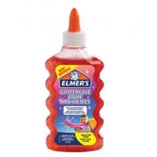 Colla glitterata liquida Slime - rosso - flacone 177 ml - Elmer's Newell