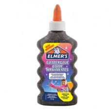 Colla glitterata liquida Slime - nero - flacone 177 ml - Elmer's