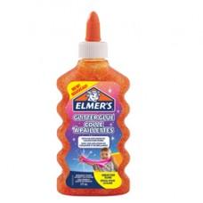 Colla glitterata liquida Slime - arancione - flacone 177 ml - Elmer's