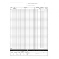 Blocco registro corrispettivi - 12/12 copie autoric. - 29,7 x 21,5 cm - DU168512C00 - Data Ufficio