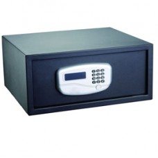 Cassaforte di sicurezza - serratura elettronica - 43,2x37x19,5 cm - 10,5 kg - nero - Iternet