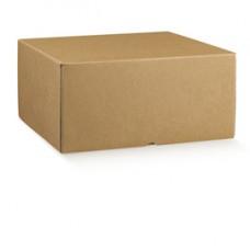 Scatola box per asporto linea Marmotta - 30x40x19,5 cm - avana - Scotton