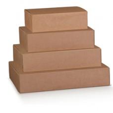 Scatola box per asporto linea Boite - 40x32x12 cm - avana - Scotton