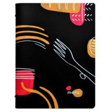 PortamenU' linea Spaghetti -  A4 - 24,6x31,6 cm - nero - Stilcasa