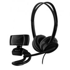 Home Office set (webcam  microfono) Doba 2 in 1 - nero - Trust