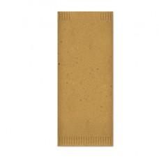 Busta portaposate - in fibra riciclata - con tovagliolo - 38 x 38 cm - Fato - conf. 700 pezzi