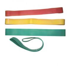 Elastico STRONG ad anello - in lattice -  D 18 cm - verde