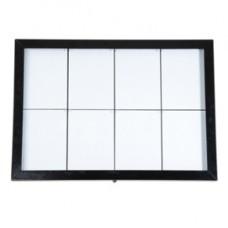 Espositore a LED per esterni - 8 x A4 - Securit