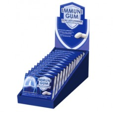 Chewing gum integratore difese immunitarie - Immunigum - showbox da 12 blister (9 gomme cad.)