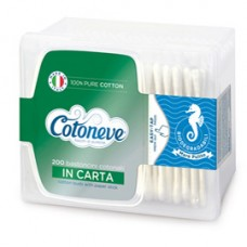 Bastoncini con cotone - Cotoneve - cofanetto da 200 pezzi