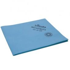 Panni MicronQuick - 38 x 40 cm - in microfibra - blu - Vileda - conf. 5 pezzi