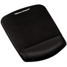 Mousepad con poggiapolsi in FoamFusion Microban PlusTouch - nero - Fellowes