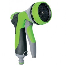Pistola a doccia per irrigazione - in alluminio - 7 getti - Verdemax
