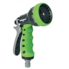 Pistola a doccia per irrigazione - in plastica - 7 getti - Verdemax