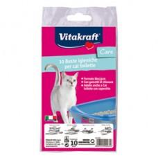 Buste igieniche per toilette dei gatti - Vitakraft - conf. 10 pezzi