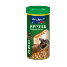 Mangime Reptile Gammare Menu Carnivor - 250 ml - Vitakraft