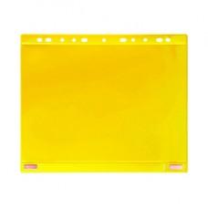 Buste forate per supporti magnetici ad anelli - A4 - giallo - Tarifold - conf. 5 pezzi