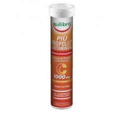 Integratore PiU' Propoli con vitamina C - gusto arancia - 20 compresse (88 gr cad.) - Equilibra