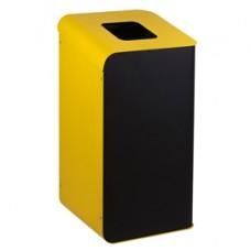 Gettacarte Rubik - per raccolta differenziata - 80 L - giallo - Medial International