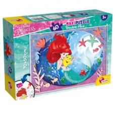 Puzzle Maxi ''Disney Little Mermaid'' - 60 pezzi - Lisciani