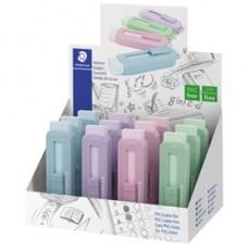 Gomma a scorrimento Eraser - involucro colori pastello assortiti - Staedtler